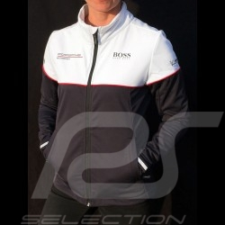 Veste Hugo Boss Porsche Motorsport Softshell noir / blanc Porsche Design WAP436LMS - femme jacket Jacke windbreaker