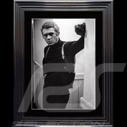 Steve McQueen Poster Bullit 1968 Luxury frame 74 x 94