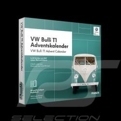 Calendrier de l'avent Volkswagen VW Bulli T1 blanc / turquoise 1963 1/43 4019631670861 Advent calendar Adventskalender