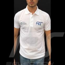 Polo homme blanc RS Club