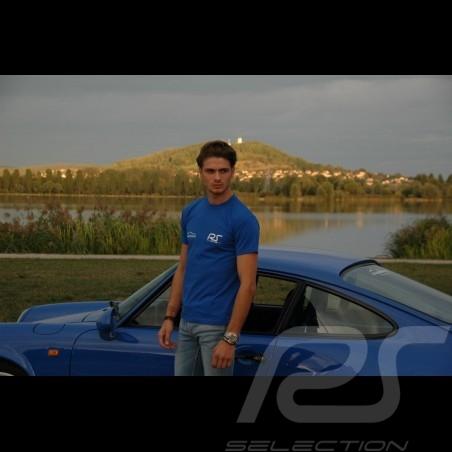 Men's royal blue t-shirt RS Club
