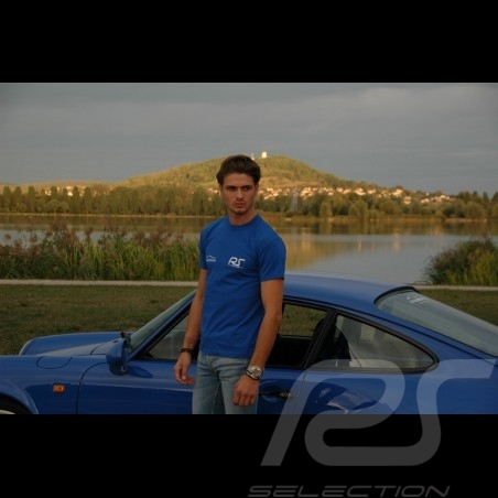 T-shirt homme bleu royal RS Club royal blue Königsblau
