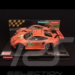 Slot car Porsche 911 RSR 24h Le Mans 2018 n° 92 Pink Pig design 1/24 Carrera 20023886