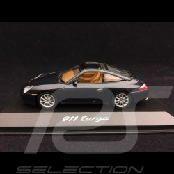 Porsche 996 Targa gris 1/43 Minichamps WAP02006510