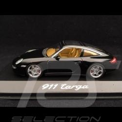 Porsche 911 type 997 Targa noir 1/43 Minichamps WAP02016017