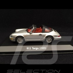 Porsche 911 type 964 Targa 1989 grey 1/43 Minichamps WAP020SET06