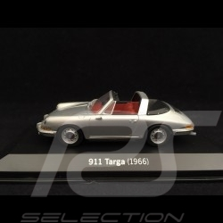 Porsche 911 Targa grise 1966 1/43 Minichamps WAP020SET06