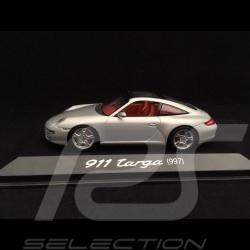 Porsche 911 type 997 Targa grey 2006 Porsche Consulting 1/43 Minichamps WAP02016117