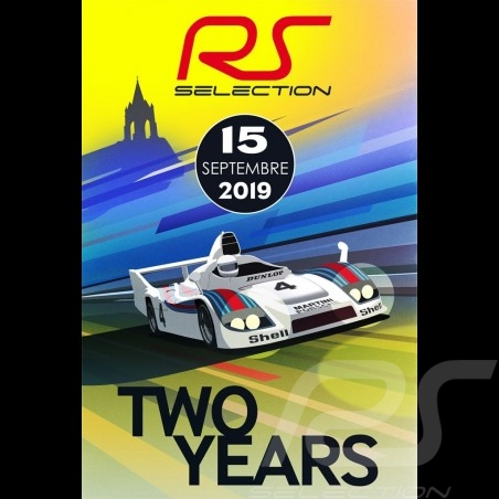 Poster Selection RS 2nd anniversary of the showroom