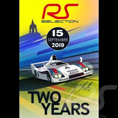 Poster Selection RS 2nd anniversary of the showroom - Signed by Jürgen Barth