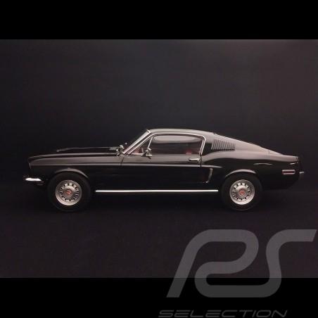 Ford Mustang Fastback GT 1968 Noir black schwarz 1/12 Norev 122700