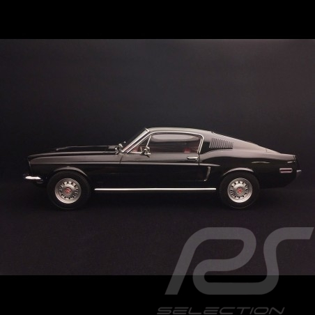 Ford Mustang Fastback GT 1968 Schwarz 1/12 Norev 122700