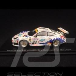 Porsche 911 GT3 RS typ 996 Le Mans 2003 n° 84 T2M Motorsport 1/43 Spark S5526