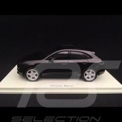 Porsche Macan noir 2019 1/43 Spark S7631