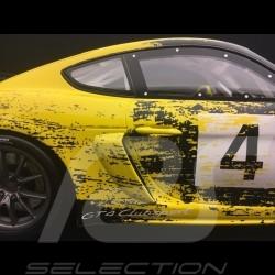 Porsche 718 Cayman GT4 Clubsport 2019 n° 4 showcar 1/18 Minichamps WAP0214150K