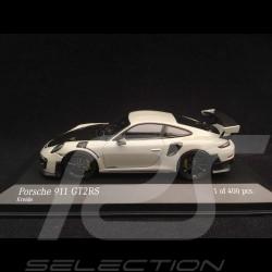 Porsche 911 type 991 GT2 RS 2018 gris Craie Chalk grey Kreidegrau 1/43 Minichamps 410067237