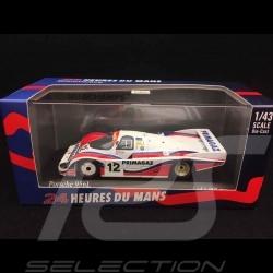 Porsche 956 L Le Mans 1986 n° 12 Kremer 1/43 Minichamps 430866512