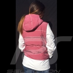 Porsche hoodie Jacket Taycan Collection White / Pink Porsche Design WAP606LTYC - women