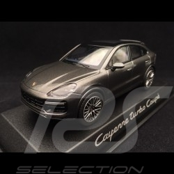 Porsche Cayenne turbo coupé 2019 quartz grey 1/43 Norev WAP0203160K