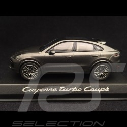 Porsche Cayenne turbo coupé 2019 quarzgrau 1/43 Norev WAP0203160K