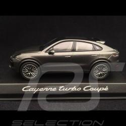 Porsche Cayenne turbo coupé 2019 gris quartz 1/43 Norev WAP0203160K