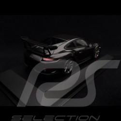 Porsche 911 GT3 RS type 991 mark II 2018 black / black rims 1/43 Minichamps 410067021