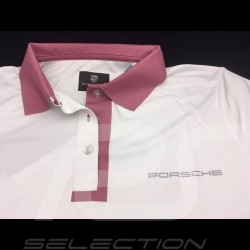 Porsche Polo shirt Taycan Collection White / pink Porsche Design WAP604LTYC - women