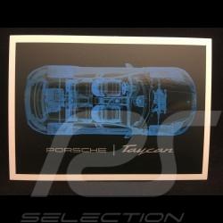 Porsche Taycan T-shirt Collector box Edition n° 16 WAP608LTYC  - unisex