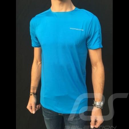 Porsche T-shirt Taycan Collection Electric blue Porsche WAP601LTYC - men