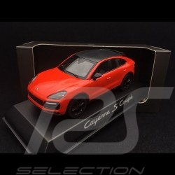 Cayenne S coupé 2019 lava orange 1/43 Norev WAP0203180K