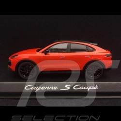 Cayenne S coupé 2019 lavaorange 1/43 Norev WAP0203180K