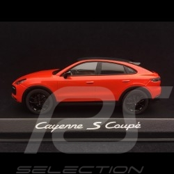 Porsche Cayenne S coupé 2019 orange fusion 1/43 Norev WAP0203180K lava orange lavaorange