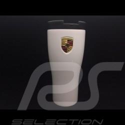 Porsche Mug Thermos isotherme Thermo Mug Porsche isotherma Thermo-becher laqué Blanc Carrara Porsche WAP0506260L