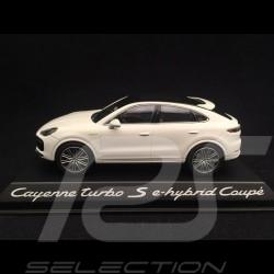 Porsche Cayenne turbo S e-hybrid Coupé 2019 carrara weiß 1/43 Norev WAP0203210K