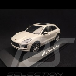 Porsche Macan turbo 2019 carrara white 1/43 Minichamps WAP0206020J