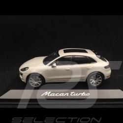 Porsche Macan turbo 2019 blanc carrara 1/43 Minichamps WAP0206020J