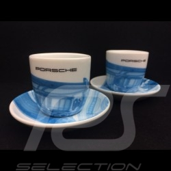 Porsche Taycan Collection Set of 2 expresso cups Limited Edition 2019 Porsche Design WAP0506010LTYC
