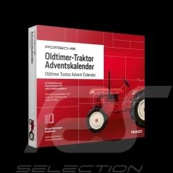 Calendrier de l'avent Tracteur Porsche Master 419 1962 rouge 1/43 MAP09600519