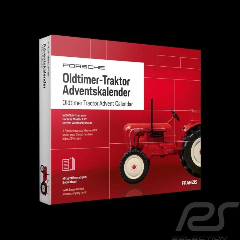 1962 Porsche Master 419 Tractor Advent calendar Red 1/43 MAP09600519