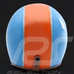 Gulf Helmet cobalt blue / orange