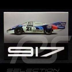 Plaque aimantée Magnet Porsche 917 LH n° 21 Martini 24h Le Mans 1971