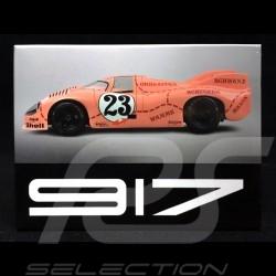 Plaque aimantée Magnet Porsche 917 Gulf n° 23 Cochon rose 24h Le Mans 1971