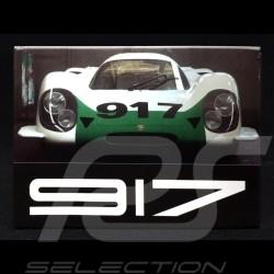 Plaque aimantée Magnet Porsche 917 001 Salon de Genève 1969
