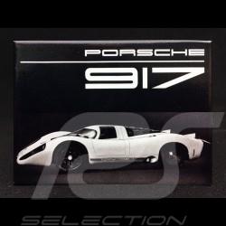 Plaque aimantée Magnet Porsche 917 Brochure presse 1969