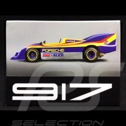 Plaque aimantée Magnet Porsche 917 30 vainqueur Can-Am 1973