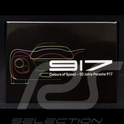 Plaque aimantée Magnet Porsche 917 Colours of Speed - 50 ans