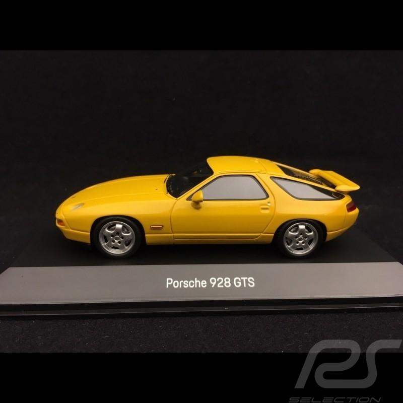 Porsche 928 GTS 1991 speed yellow 1/43 Spark MAP02005217