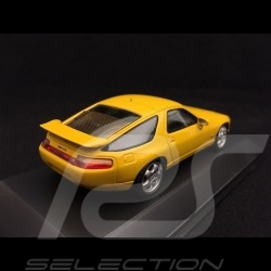 Porsche 928 GTS 1991 speed yellow 1/43 Spark MAP02005217