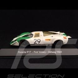 Porsche 917 n° 29 Première Victoire Porsche Zeltweg 1969 1/43 Spark MAP02043119 First Porsche Victory Erster Porsche-Sieg