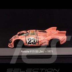 """Porsche 917 /20 n° 23 """"Rosa sau"""" 24h du Mans 1971 1/43 Spark MAP02043519"""